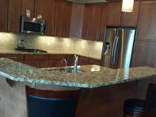 Custom Kitchen Countertops - Quartz, Granite & Marble ...